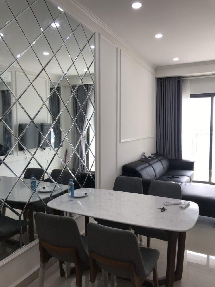 hình căn hộ 1 phòng ngủ The Sun Avenue