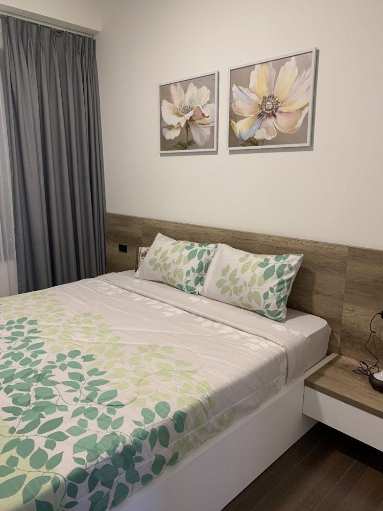 hình phòng ngủ căn hộ 1 phòng ngủ the sun avenue