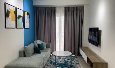 thiết kế nội thất căn hộ 1 phòng ngủ the sun avenue