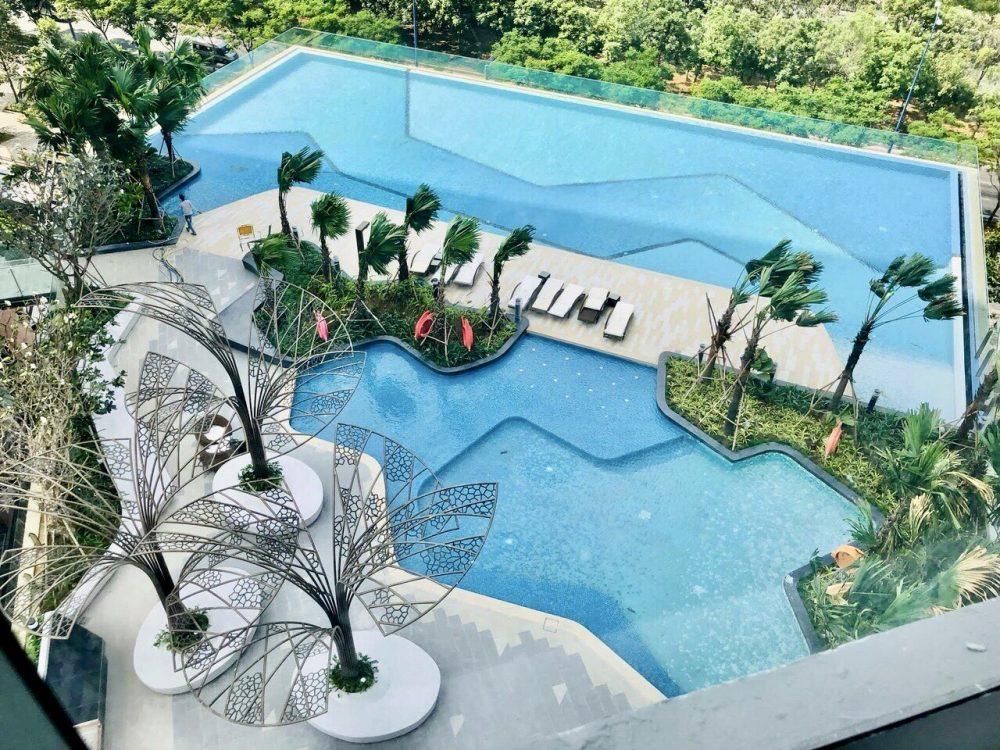 hồ bơi dự án the sun avenue