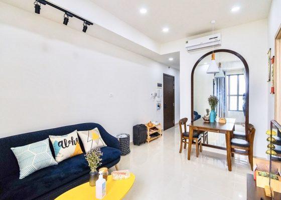 cho thuê căn hộ 1 phòng ngủ the sun avenue 1